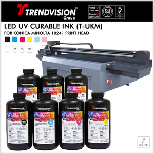 (T-UKM) UV Curable Ink For Konica Minolta 1024i
