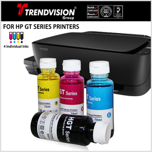 Dye & Pigment Inks For HP GT Series Printers