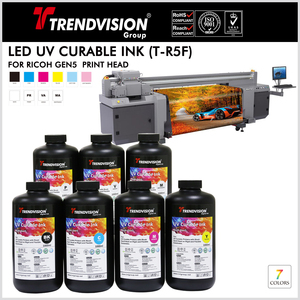 (T-R5F) UV Curable Ink For Ricoh Gen5
