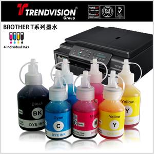 DCP-T300/T500W/T700W/T800W系列兼容颜料及染料墨