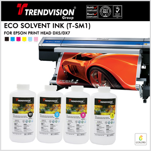 (T-SM1) Eco Solvent Ink For Epson DX5/7