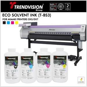 (T-BS3) Eco Solvent Ink For Mimaki Printers DX5/7