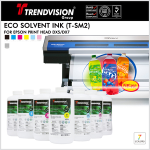 (T-SM2) Eco Solvent Ink For Epson DX5/7