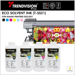 (T-SS21) Eco Solvent Ink For Mimaki Printers DX5/7